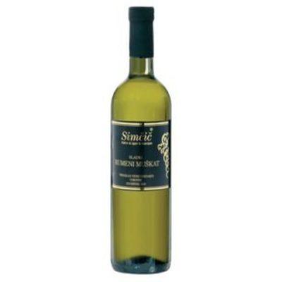 Vino Rumeni muškat (0,75l)