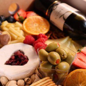 Valentinov sirni narezek (brez mesa)