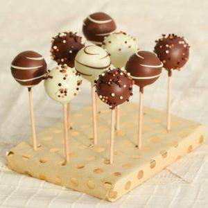 Cakepopsi: vanilijevi s kokosom in belo čokolado (15 kom)