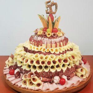 Mesna torta za 20 oseb