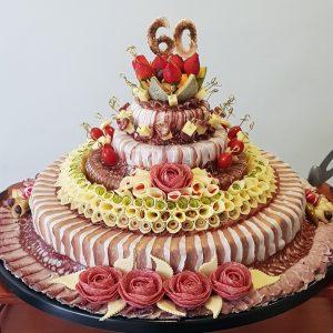 Mesna torta za 30 oseb